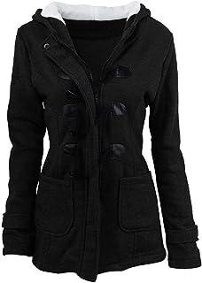 معطف رياضي نسائي فضفاض من الصوف كلاسيكي للشتاء بمزيج من الصوف