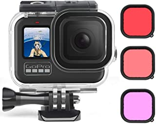 1PC Silicone Protective Case or Waterproof case or plastic frame or alloy cage compatible with GoPro Hero 9(2020) Black Ac...
