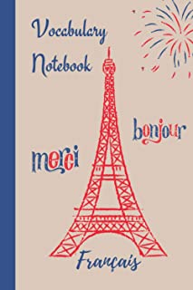 Vocabulary Notebook French: learning a foreign language
