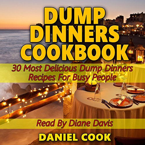 Dump Dinners Cookbook audiobook cover art