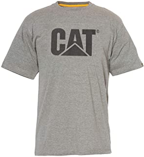 Men's Cat Logo Hashtag Summerweight Short Sleeve Tee