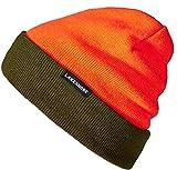 Lakeshore® Berretto da Caccia Reversibile I Cappello ad Alta visibilità per la Caccia in Battuta I Arancione/Verde Oliva