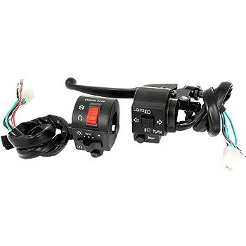 sourcingmap Guidon pour moto haute et basse /électrique faisceau de phare