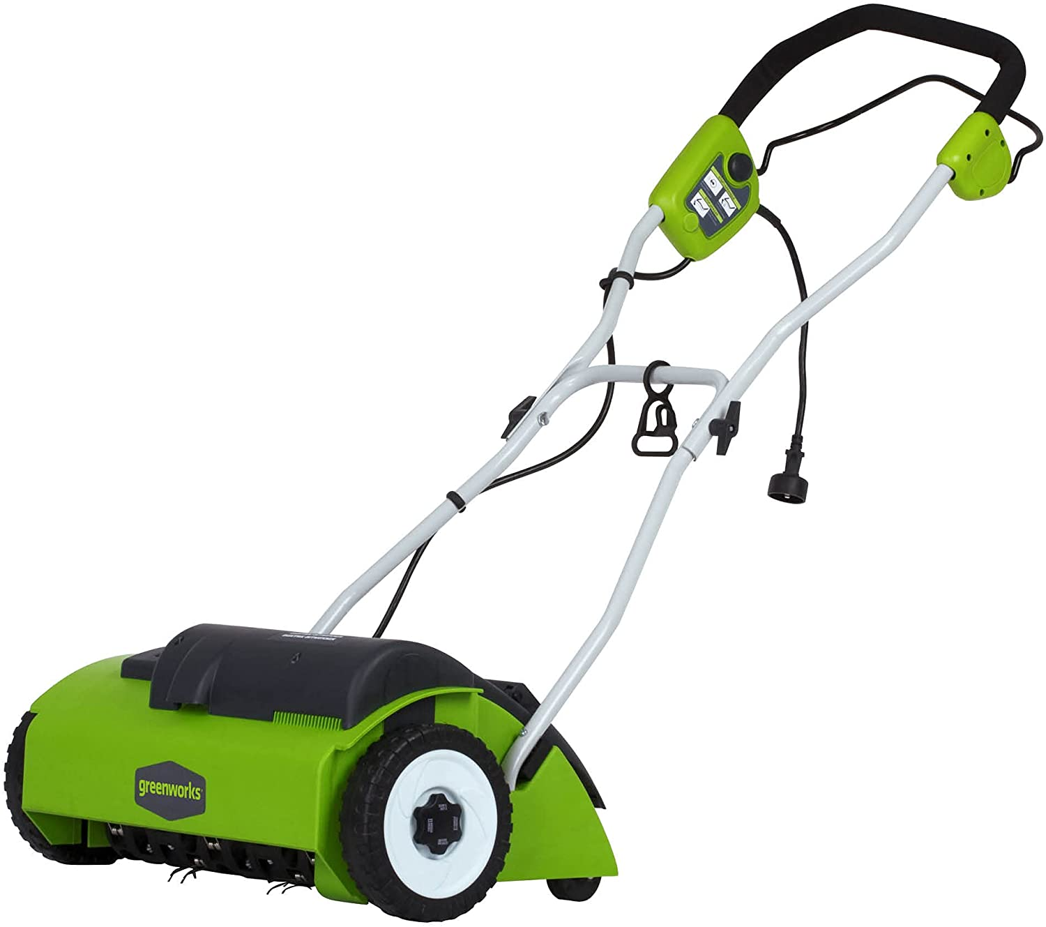 """Greenworks 10A Corded 14"""" Dethatcher $99 Coupon"""