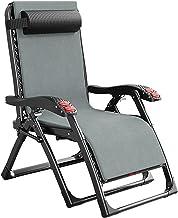 Ligstoelen Zero Gravity Chair Oversized Zwaar, Outdoor Fauteuil voor Volwassenen, Opvouwbare Lounger Stoel voor Slaapkamer...