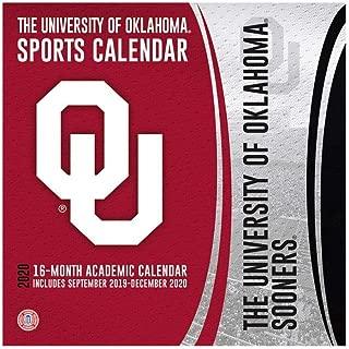The University of Oklahoma Sooners 2020 Calendar