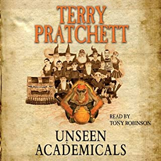 Unseen Academicals cover art