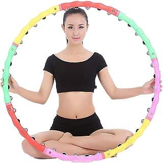 lentra/înement LIjieganxin Hula Hoops pour adultes et femmes la salle de sport Cerceau souple et lest/é pour lexercice /Équipement de remise en forme pour la maison