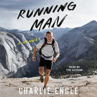 Running Man audiobook cover art