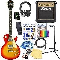 エレキギター 初心者 レスポールタイプ Blitz BLP-450 CS マーシャルアンプ付15点セット