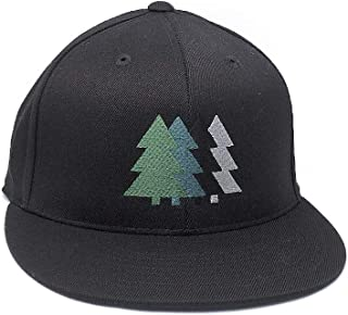 183ba7e8991 Four Trees Hat - Retro Nature Themed Hat - 3 Color Options Available -  Fitted and