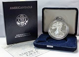 1996 p silver eagle proof