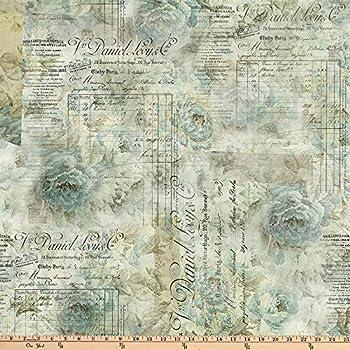 FreeSpirit Memoranda 2 Eclectic Elements Receipt Quilt Fabric