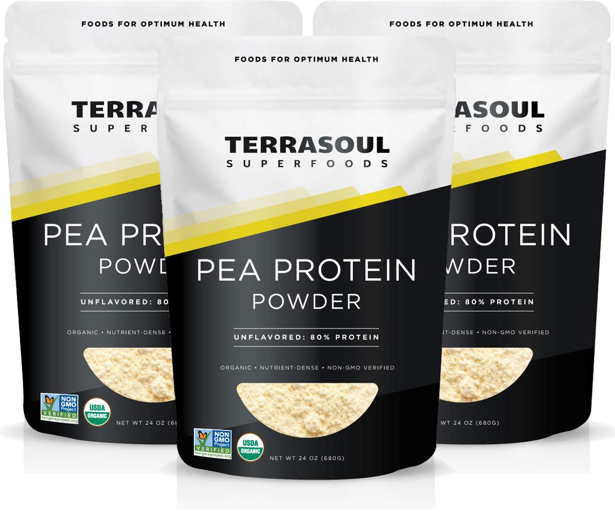 Terrasoul Superfoods Special price for a limited time Organic Max 52% OFF Pea Protein Lbs Pack 3 4.5