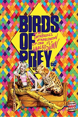 61fEZfJzNwL Harley Quinn Birds of Prey Posters