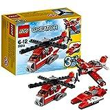 LEGO Creator - 31013 - Jeu De Construction - L'hélicoptère Rouge