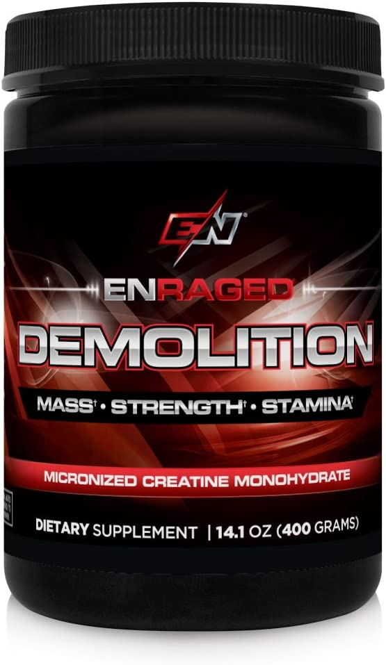 ENRAGED NUTRITION Bargain DEMOLITION Micronized Sp Creatine Monohydrate: Max 68% OFF