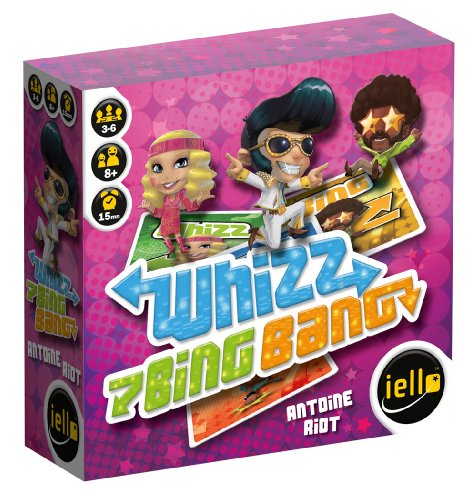 IELLO - 51035 - Jeu d'action Et De Réflexe - Whizz Bing Bang