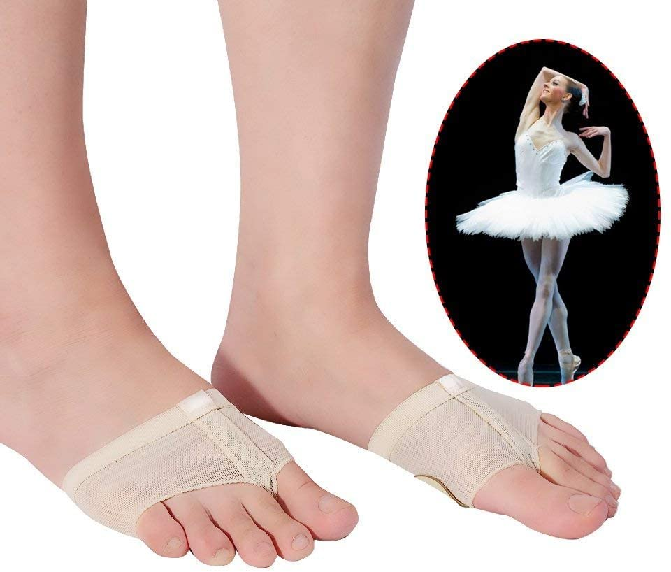 Dance Foot Thongs, Thong Toe Paws, Lyrical Shoes, Lyrical Ballet Belly Dance Foot Thongs, Dance Paw Pad Shoes Half Sole