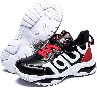 [長途跋株式會] 春秋子供靴ファッション通気性ピンクレジャースポーツシューズ男の子女の子白ランニングシューズ子供スニーカー