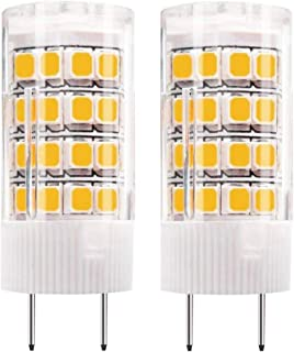 G8 LED Bulb, 4W Warm White 3000k, Under Cabinet Counter Light, 40w Equivalent Halogen Replacement (Pack of 2)