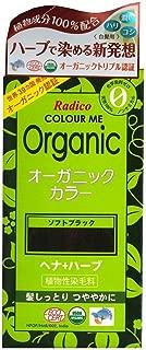 Radico Color Me Organic 100% Natural Herbs Long Lasting Soft Black Hair Color 100g / 3.53 Oz.