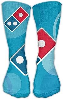 Gullanl Domino€s Pizza Logo Best High Performance Athletic Running Casual Socks for Men & Women