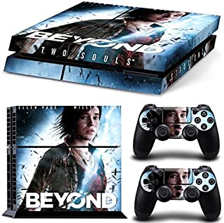 E-WORツョPs4 Console Designer Protective Vinyl Skin Decal Cover for Sony Playstation 4 & Remote Dualshock 4 Wireless Controller Stickers TN-PS4-0516-beyond two souls by E-WOR [並行輸入品]