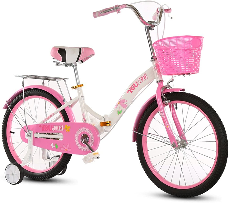 LiuJF-Fitness Equipment Falten Fahrrad, Jungen Und Mdchen Fahrrad Sichere Kindheit Persnliche Fahrrad 5-12 Jahre Altem Baby Hilfsrad Fahrrad 115-128 cm