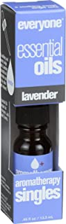 EO Products Everyone Aromatherapy Singles - Essential Oil - Lavender - .5 oz (Pack of 2)