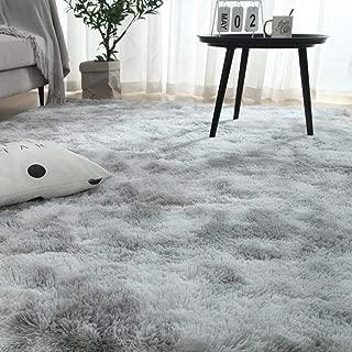 Berukon ラグ カーペット 洗える ラグマット 3色選べる 絨毯 防ダニ 滑り止め付 防ダニ 抗菌 防臭 120×160cm(約2畳) 1年中使えるタイプ 床暖房対応 ふわふわ 折り畳み 長方形 センターラグ グレー