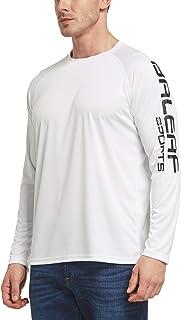BALEAF Men`s UPF 50+ Sun Protection Shirts Long Sleeve Dri Fit SPF T-Shirts Lightweight Fishing Hiking Running