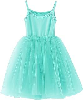 GSVIBK Baby Girls Tutu Dress Toddler Infant Tulle Skirts Sleeveless/Long Sleeve Cute Tutu Dress Mini Dress