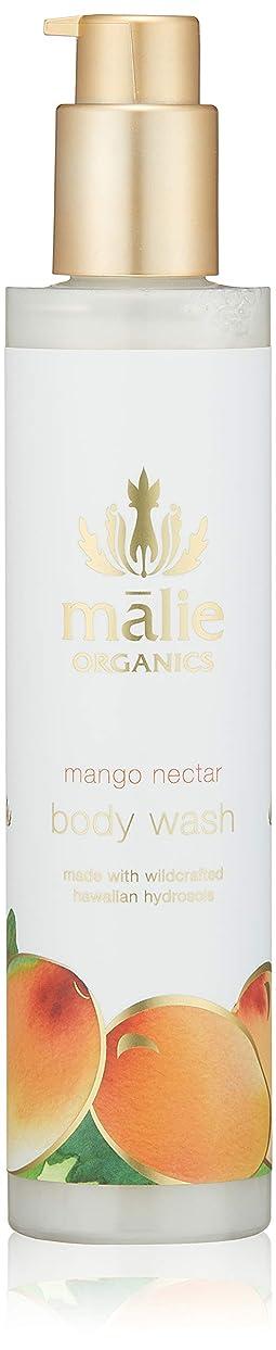 ラウズ柱個性Malie Organics(マリエオーガニクス) ボディウォッシュ マンゴーネクター 222ml