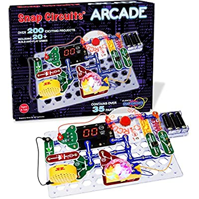 """Snap Circuit'S """"Arcade"""", Electronics Exploration Kit, Stem Activities for Ages 8+"""