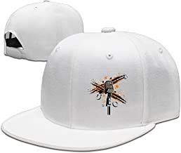 Sports Vintage Microphone And Music Note Cap For Mens