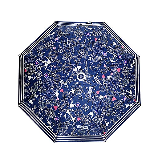 Creative 8 Bone Paraplu Lange Handvat Oversized Vouwregen en Regen Dual-Use Tide Brand Sunshade Automatische Creatieve Trend Paraplu