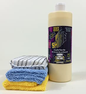 Ardex Miami Shine Car, Truck, RV, Aircraft Wax with Carnauba & Protective Polymers – Easy Hand Application