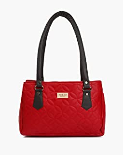 Nelle Harper PU Leather Latest Fashion Handbags for Women's (Red)