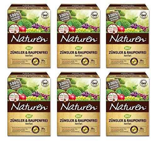 Naturen® Bio Zünsler & Raupenfrei XenTari 120 g - Hoch wirksames biologisches Präparat