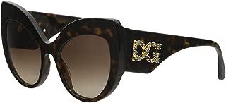 D&G DG4321 DG/4321 B502/13 Havana Cat Eye Sunglasses 55mm