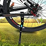 Karetto Adjustable Bike Kickstand- Rear Side Bicycle Stand with 2 Hexagon Wrenches, Bike Side Support for 20 22 24 26 Inch Mountain Bike/Road Bicycle/Adult Bike/Sports Bike
