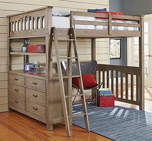 NE Kids Full Loft Bed