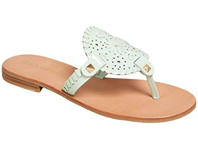 Jack Rogers Georgica Patent Sandal (Mint) Women