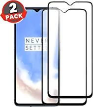 Aeidess 9H Oneplus 7T Tempered Glass Screen Protector [ HD ] with Installation Kit for Oneplus 7T Black