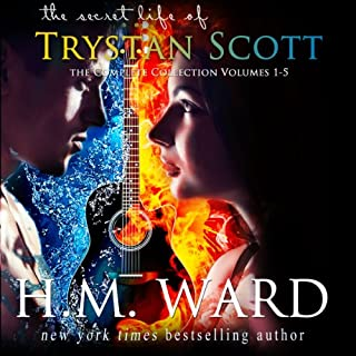 The Secret Life of Trystan Scott audiobook cover art