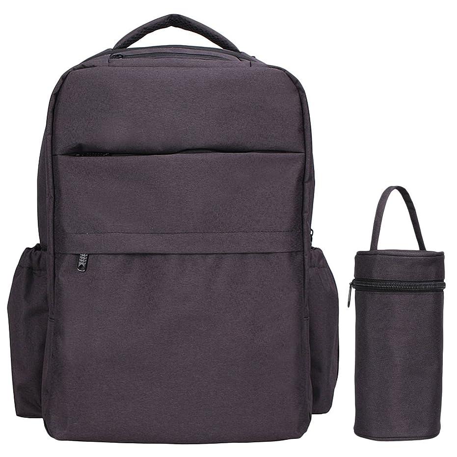 どうしたの普及支配的【ノーブランド品】大容量 ファブリック 旅行 スポーツ アウトドア ミイラバッグ バッグ バックパック 全3色