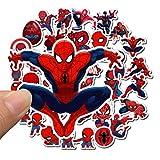 Qemsele Autocollants Stickers pour Enfants, 100+ Pièces vinyles Graffiti pour Fille Garcon Super...