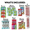 CraveBox Care Package (45 Count) Snacks Food Cookies Chocolate Bar Chips Candy Ultimate Variety Gift Box Pack Assortment Basket Bundle Mix Bulk Sampler Treat College Students Final Exam Office Easter #3