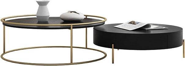 Novel TV Cabinet Modern Minimalist Villa Furniture Nordic Coffee Table TV Cabinet Combination Living Room Cabinet Fashion ...